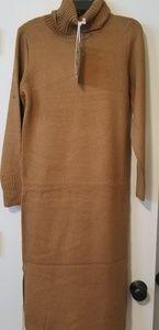 NWT Oscar-ST Turtleneck Sweater Dress